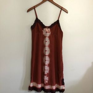 Quiksilver silk dress